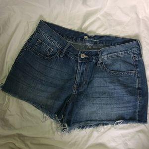 Old Navy Classic raw hem shorts